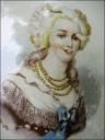 Marie Antoinette plate, Porte de Vanves Flea