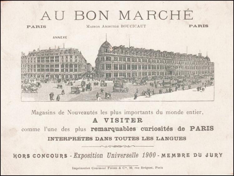 paris tips tripping to le bon march paris people. Black Bedroom Furniture Sets. Home Design Ideas
