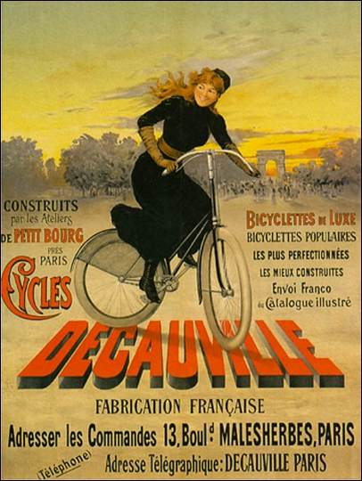 Decauville Poster, early 1900s
