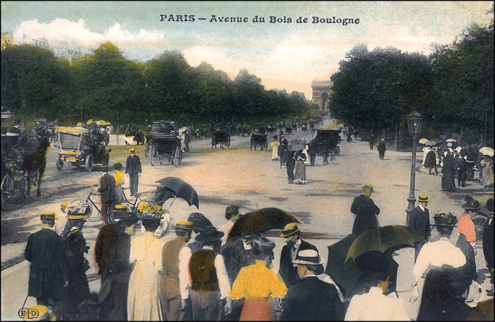 Avenue Foch and the Arc de Triomphe, 1907