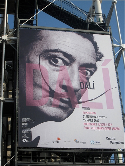 You're looking swell, Dalí