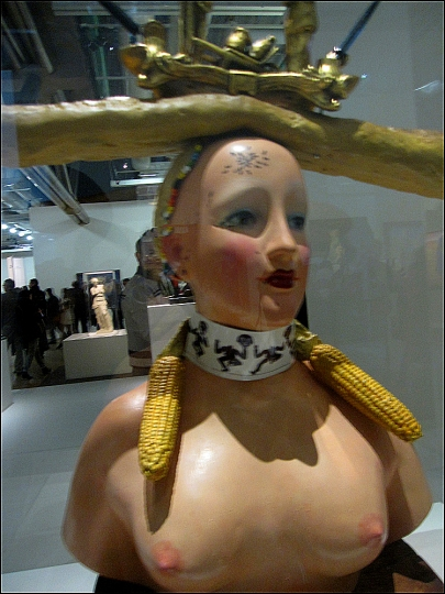 Buste de Femme rétrospectif, Dalí, 1933 (Imagine waking up with bread head?) Heck, I've been there!