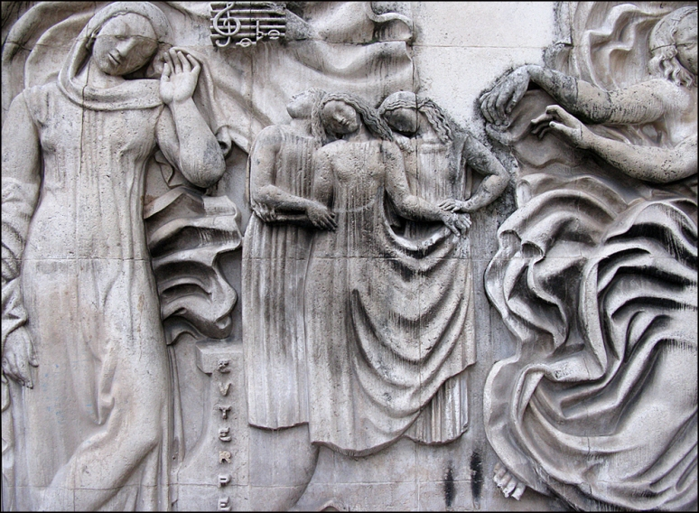 Bas-reliefs by Alfred Auguste Janniot, eastern wing of the Palais de Tokyo, 1937 (Photos by Theadora Brack)