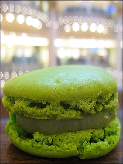 Macaron break at Galeries Lafayette