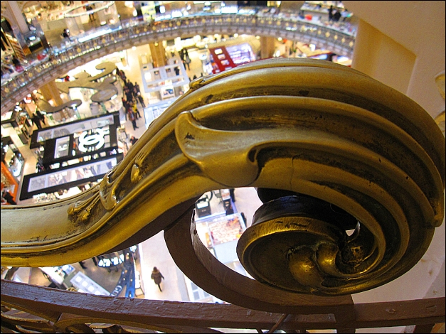 Catbird Seating at Galeries Lafayette