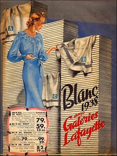 Galeries Lafayette, Big Sales Catalog, 1938