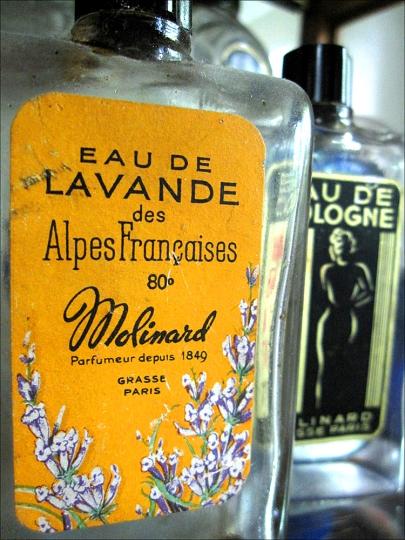 EAU DE LAVANDE AND HABANITA BY MOLINARD