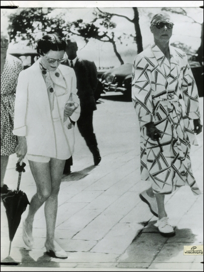 Duke and Duchess of Windsor, France, 1953 (Brack's archives)