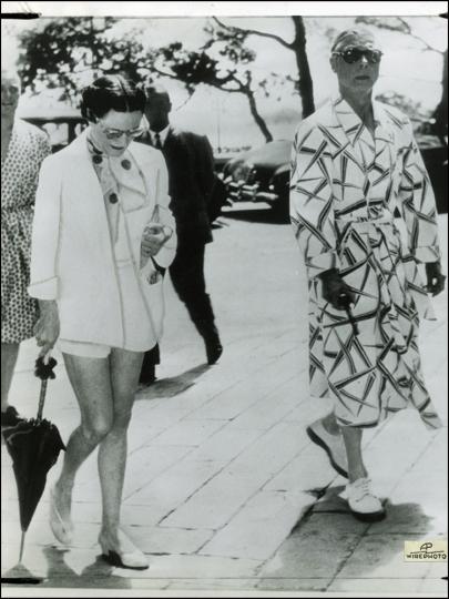 Duke and Duchess of Windsor, France, 1953 (Brack's archives)