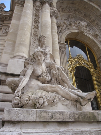 LES QUATRE SAISONS BY LOUIS CONVERS AT THE PETIT PALAIS
