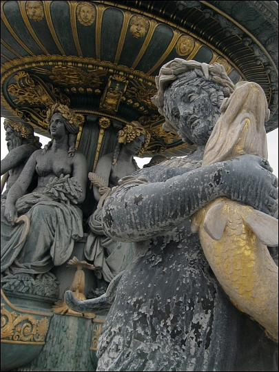 Fontaine des Mers, Place de la Concorde