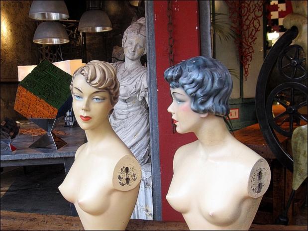 You've got that charm: Marché Paul Bert, Clignancourt Flea Market