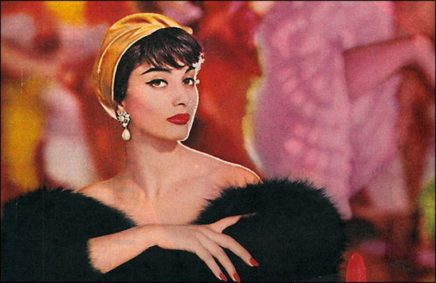 Moulin Rouge, FRENCH SPICE 24 COLORS BY COTY, 1958