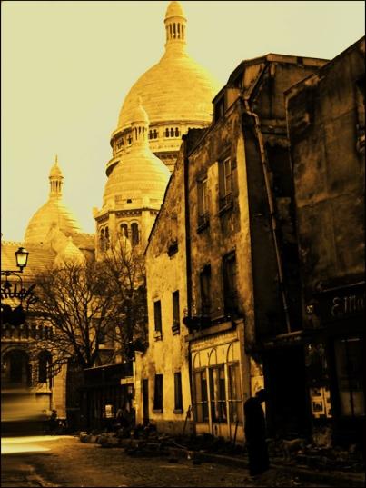 Sacré Coeur by Maurice Sapiro, Paris, 1956