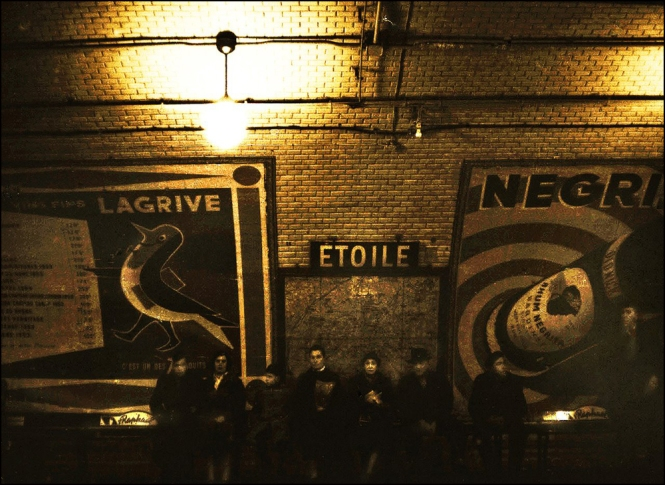 The Métro by Maurice Sapiro, Paris, 1956
