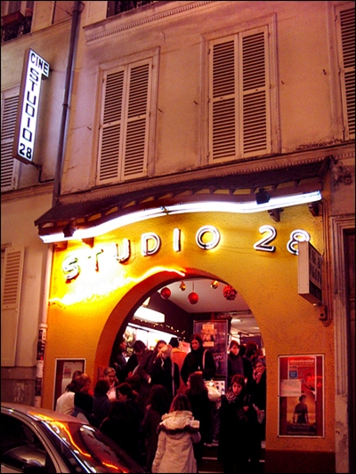 Studio 28 Tucked away in Montmartre—but the Greats of early cinema had no trouble finding it!