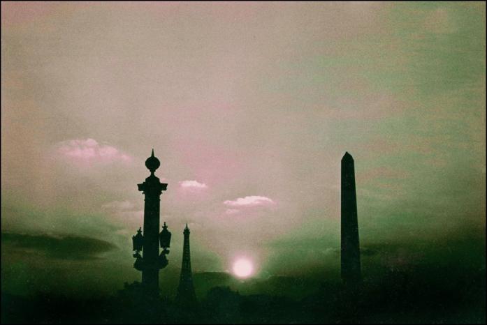 Paris at Midnight by Maurice Sapiro, Paris, 1956