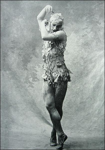 Nijinsky, Le Spectre de la Rose, 1911