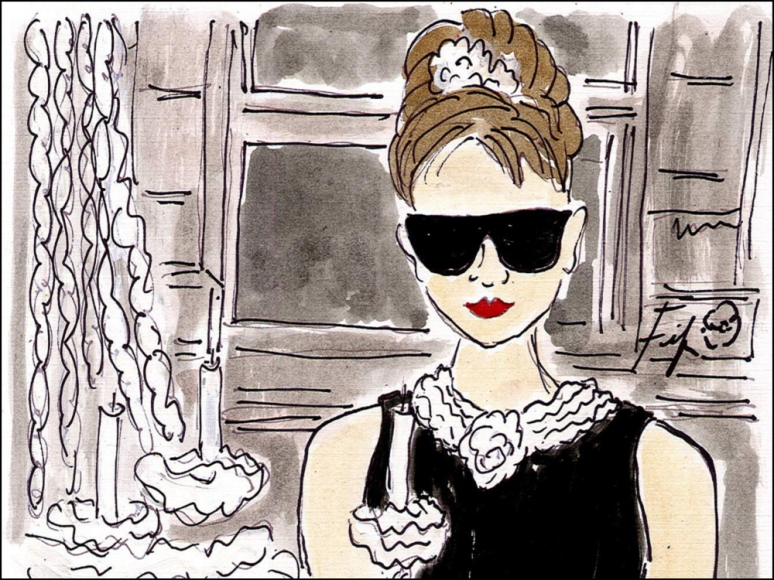 Parisian Garb + Big Summertime Sales = Bliss Breakfast at Tiffany's with Holly by Fifi Flowers