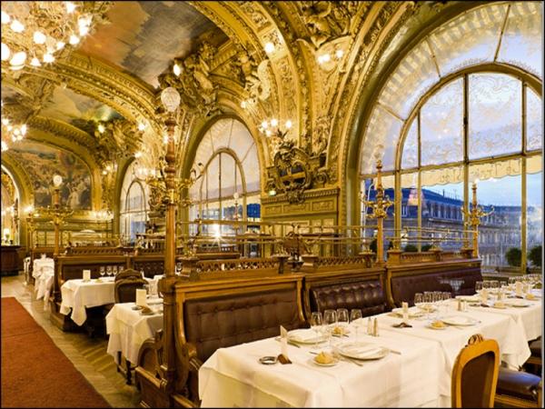 Le Train Bleu Restaurant, Gare de Lyon, Paris