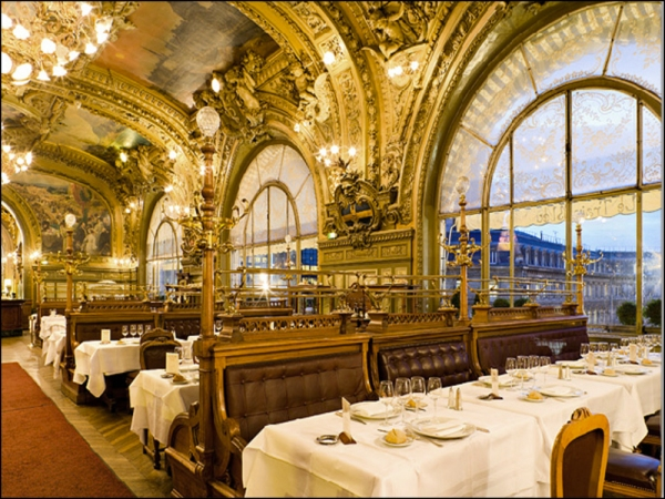 Le Train Bleu Restaurant, Gare de Lyon, Paris