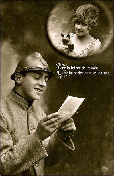 C'est lui parler pour un instant (Image: T. Brack's archives)