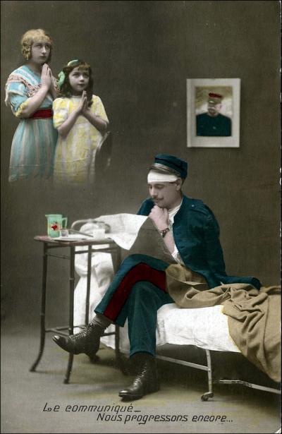 Le communique-Nous progressons encore (Image: T. Brack's archives)