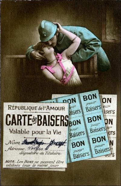 Carte de Baisers (Image: T. Brack's archives)