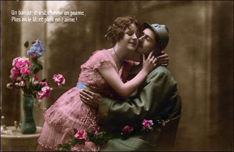 Un baiser c'estcomme un poème! (Image: T. Brack's archives)