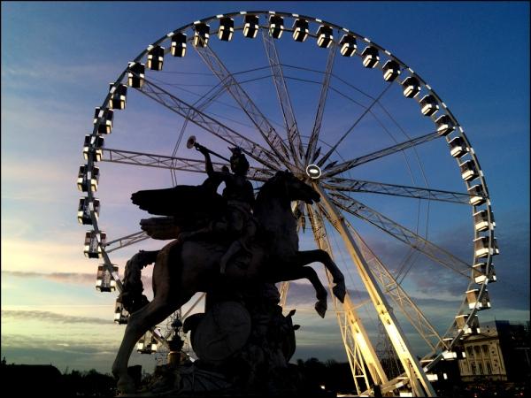 La Grande Roue spins until February 15, 2015. Trekking to Paris? Don't miss it!