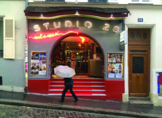 Studio 28 in Montmartre (Photograph by Roger Manley)