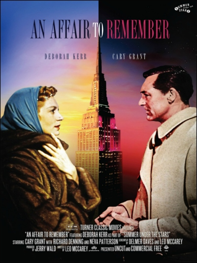 An Affair to Remember with Deborah Kerr and Cary Grant (Image: Movieposterdb)