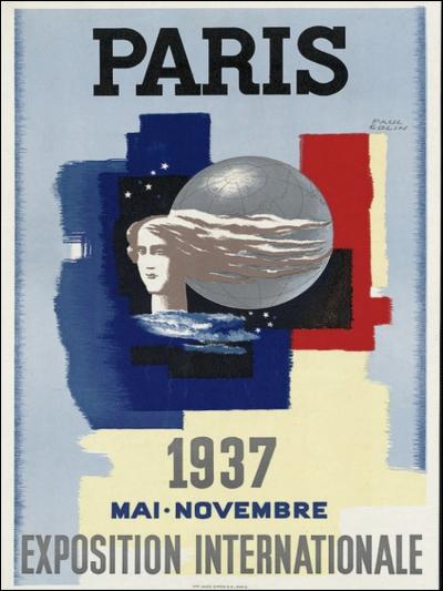 Palais de Tokyo, Exposition Internationale, 1937