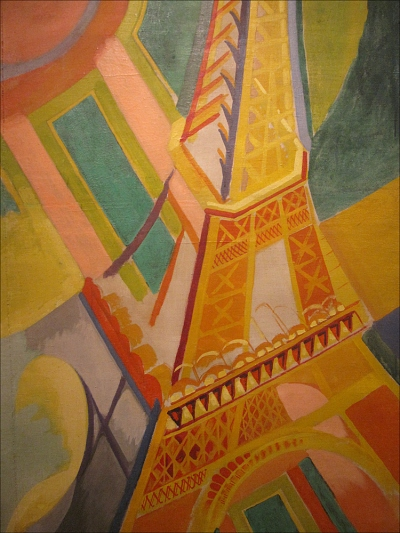 CELEBRATING ORPHISM: ROBERT DELAUNAY, EIFFEL TOWER, MUSÉE D'ART MODERNE, 1924-1925