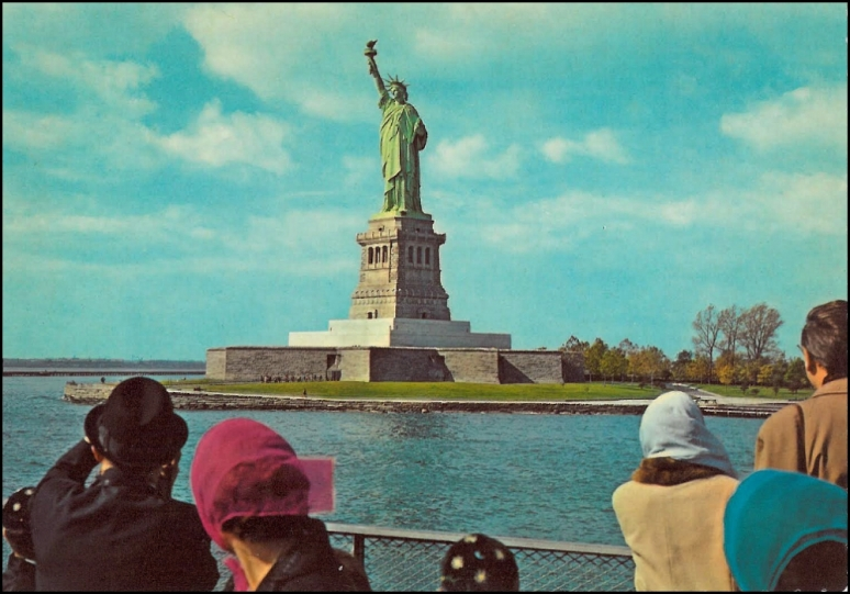 "BARTHOLDI'S ""BIG DAUGHTER"" (A.K.A., STATUE OF LIBERTY), NEW YORK, NEW YORK IMAGE: T. BRACK'S ARCHIVES"