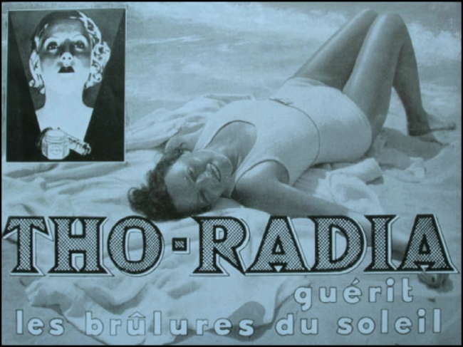 Shine-on! LIFE IS A BEACH WITH THO-RADIA (Image: T. Brack's archives)