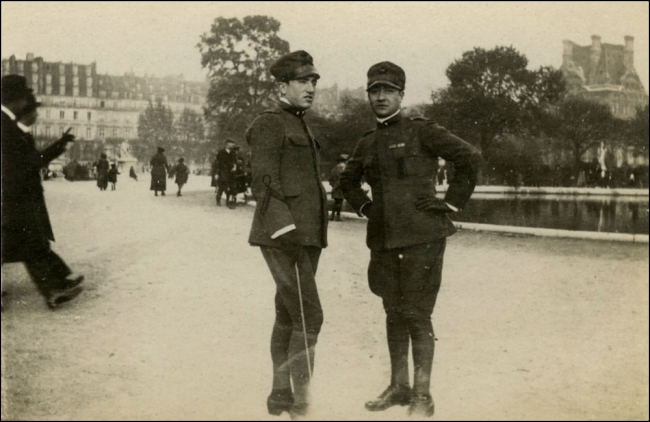 Grand Bassin at the Jardin des Tuileries, 1918 (Image: T. Brack's archives)