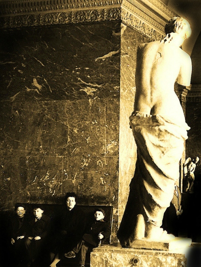 Venus de Milo, Louvre, Paris (Photograph by Maurice Sapiro, 1956)