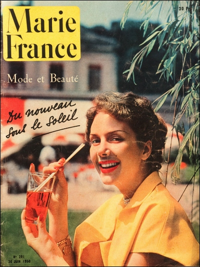 Queen For A Day is my mantra while on holiday (Image: T. Brack's archives, Marie France, 1950)