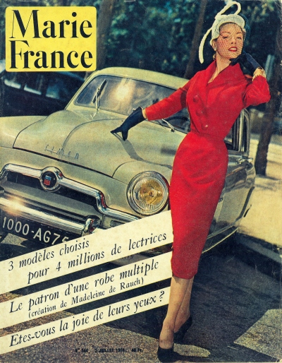 Marie France magazine, July 1951 (Image: T. Brack's archives)