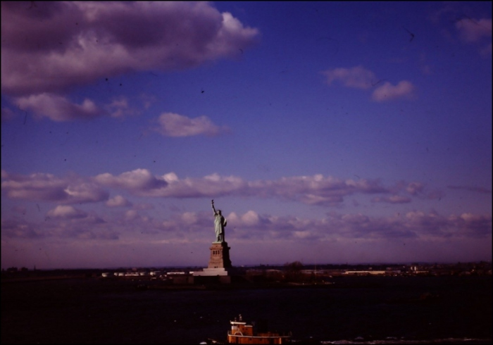 Bartholdi was the artist, while Eugène-Emmanuel Viollet-le-Duc and Gustave Eiffel were the structural engineers, New York (Image: T. Brack's archives, 1970s)
