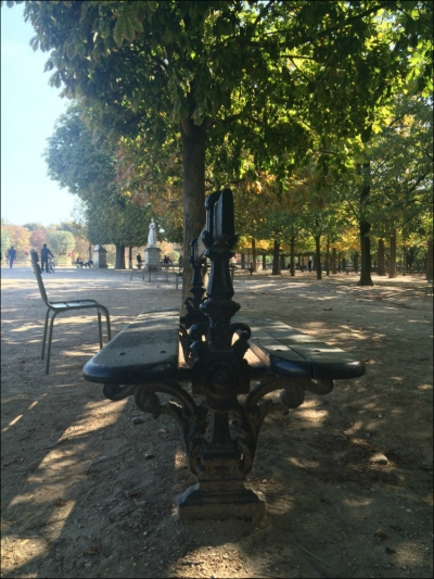 There is a season (turn, turn, turn): Jardin du Luxembourg