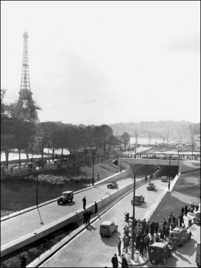 The Pont de l'Alma Tunnel opened in 1956 (Image: T. Brack's archives)