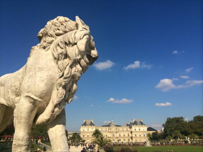 Puff the Magic Lion, 1813, Jardin du Luxembourg, Paris (Photo by T. Brack)