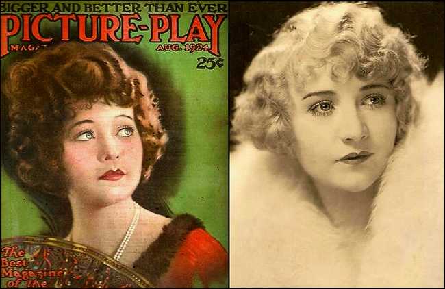 Meet the plucky Betty Compson (Found Scrapbook clippings, 1920s, Theadora Brack's collection)