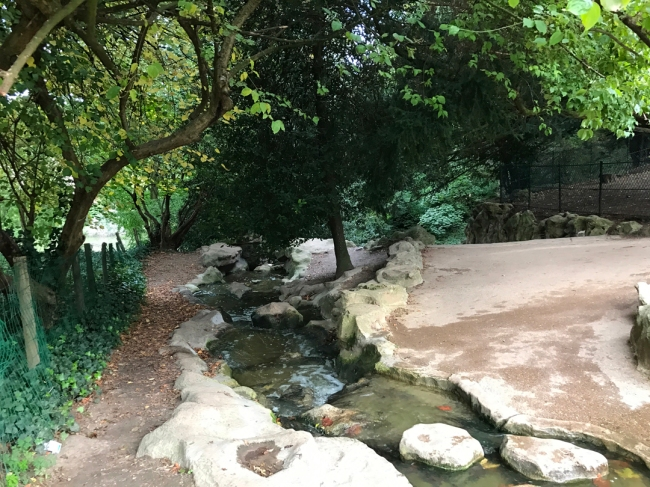 Another shot of the petite cascade because, because one is never, ever enough (Photo by T. Brack)