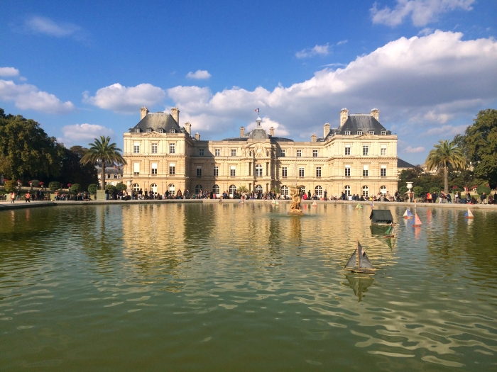 Smooth Sailing: Miniature Boats on the Grand Bassin, Jardin du Luxembourg (Photo by Theadora Brack)