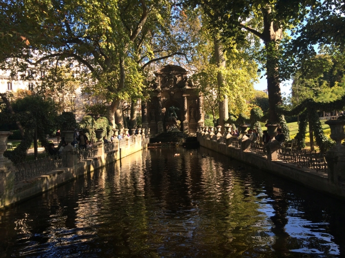Paradise Found: Médici Fountain, Jardin du Luxembourg (Photo by Theadora Brack)