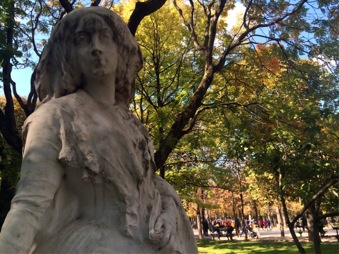 Be Kind: George Sand by François-Léon Sicard, Jardin du Luxembourg (Photo by Theadora Brack)
