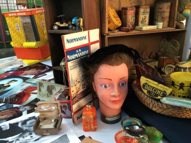 You might also uncover old medical leech jars, shrunken heads, or even genuine Old Masters—stageprop perfect for Antiques Roadshow (Photo by Theadora Brack)